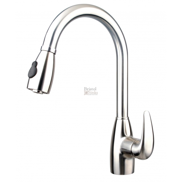 kitchens kitchen arc american standard high down quince pull faucet faucets handle