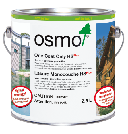 Exterior - One Coat Only HS